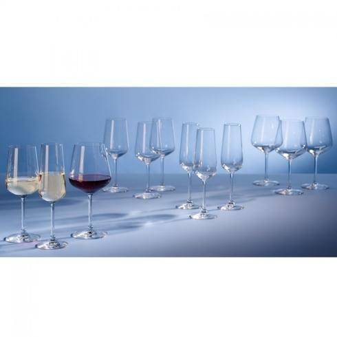 Villeroy & Boch  Ovid Ovid: Assorted Set of 12 Red & White Wine and Champagne Flutes $56.00