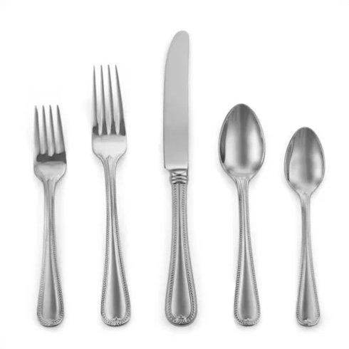 Lenox  Vintage Jewel Frosted Flatware 5 Piece Place Setting $50.00