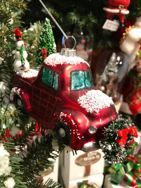 $16.00 Vintage Red Truck Ornament
