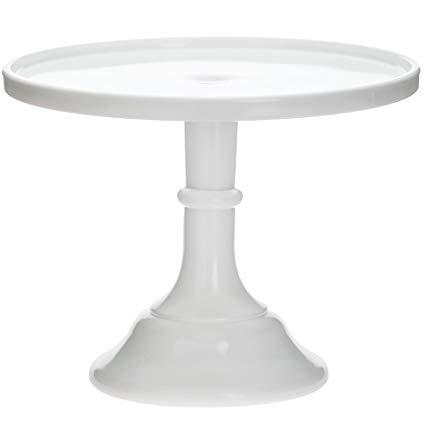 Mosser Glass Milk Glass Cake Pedestal