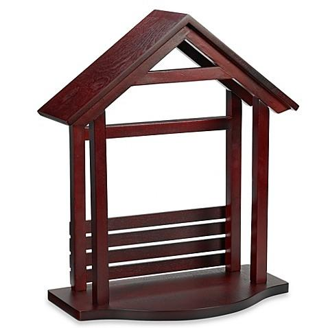Lenox  First Blessing Nativity Wood Creche $140.00