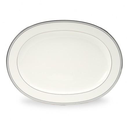 "Noritake  Aegean Mist Oval Platter, 14"" $120.00"