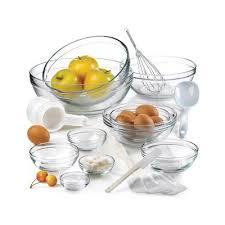Artland  Simplicity Entertaining 10 Piece Glass Mixing Bowl Set $40.00