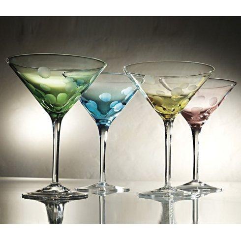 Artland  Polka Dot Set of 4 Martini Glasses $39.00