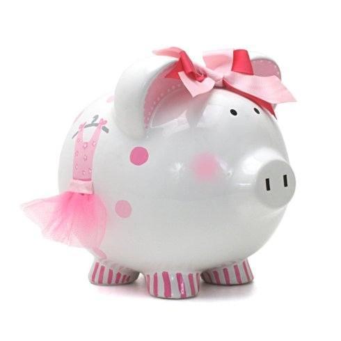 $38.00 Ava\'s Tutu Piggy Bank