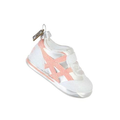 $10.00 Baby\'s First Christmas Pink Sneaker