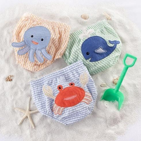 Beach Bum Diaper Covers (Boy) 3-Piece Set 0-6 months collection with 1 products