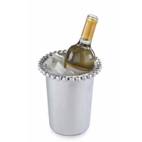 Mud Pie   Beaded Metal Wine Cooler $30.00