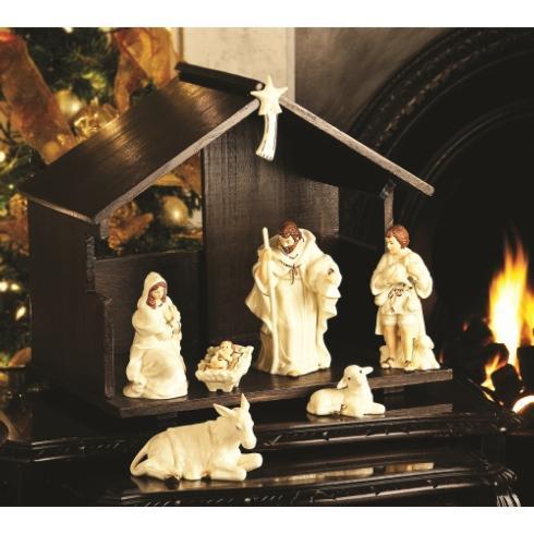 Belleek  Nativity Collection Classic Nativity, 9 Piece Set $250.00