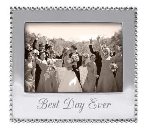 "Mariposa  Engraved Statements ""Best Day Ever"" 5 x 7 Frame $66.00"