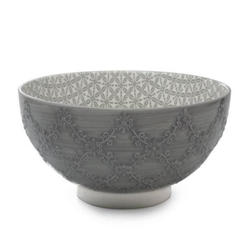 $20.00 Trellis Bowl, Smokey Grey