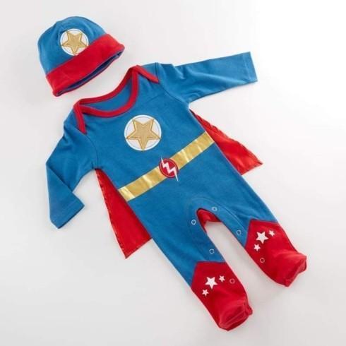 $31.00 Big Dreamzzz Baby Superhero 2-Piece Layette Set