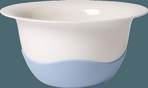 """Villeroy & Boch  Clever Cooking 11 1/2"""" Serve Bowl/ Strainer in Blue $85.00"""