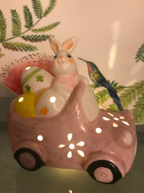 $15.00 LED Bunny Car