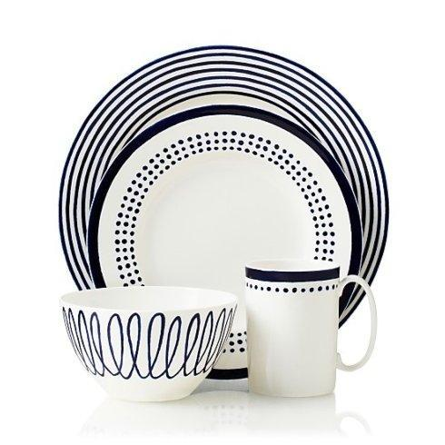 Kate Spade  Charlotte Street East 4 Piece Place Setting $80.00