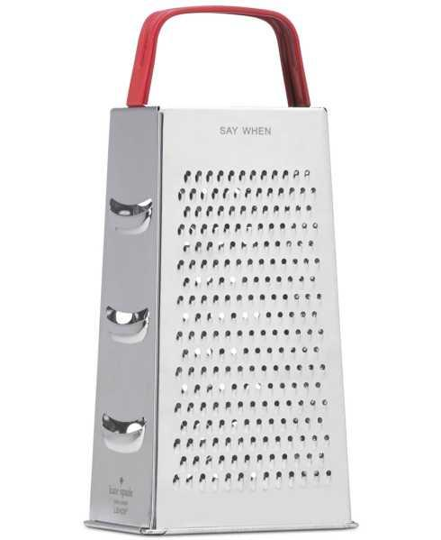 Kate Spade  Any Way You Slice It Cheese Grater $15.00