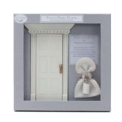 $35.00 Tooth Fairy Door, White