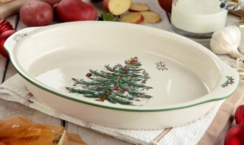 Live With It by Lora Hobbs Exclusives  Spode Christmas Tree Au Gratin $47.50