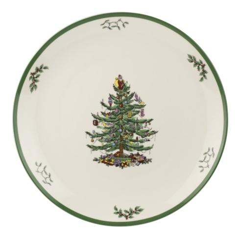 """Live With It by Lora Hobbs Exclusives  Spode Christmas Tree Round Platter, 14"""" $50.00"""
