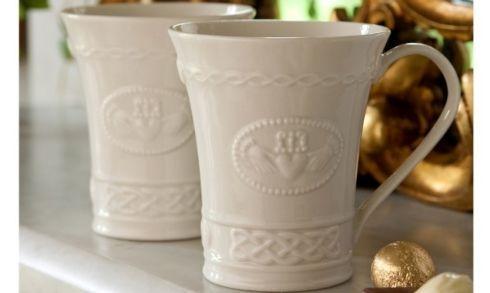 Belleek  Claddagh Tableware Claddagh Mugs, Set of 2 $20.00