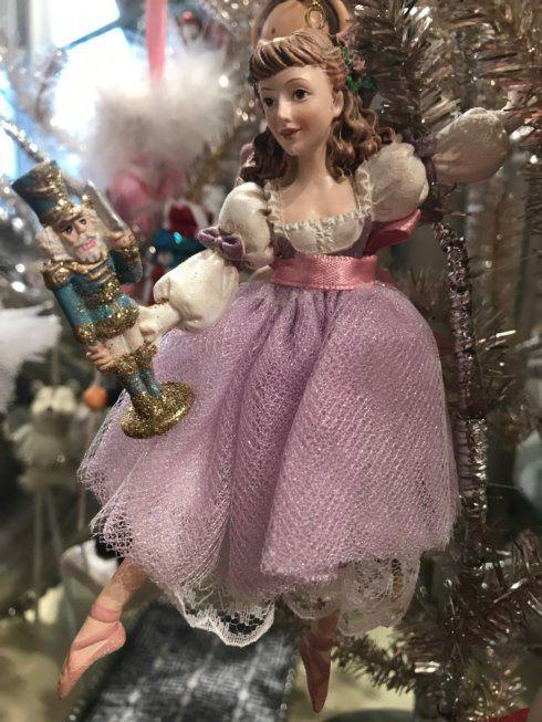$16.00 Clara with Nutcracker Ornament
