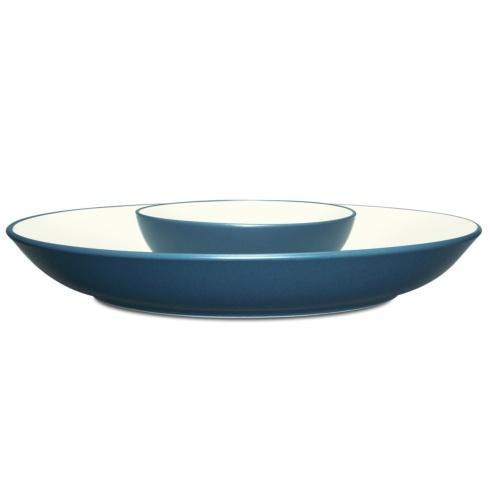 Noritake Colorwave Blue Colorwave Blue Dinnerware Chip & Dip $60.00