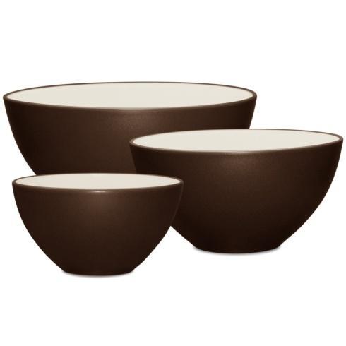 Noritake Colorwave Chocolate Colorwave Chocolate Kitchen Large Mixing Bowl $60.00