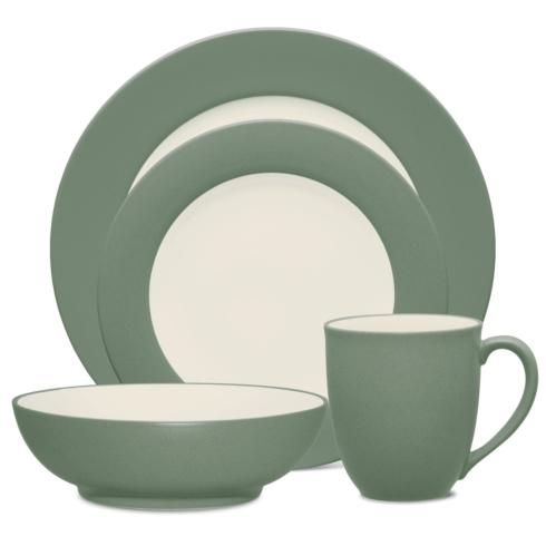 Sale $40.00 Rim 4 Piece Place Setting  sc 1 st  Live With It by Lora Hobbs & Noritake Colorwave Green Dinnerware products