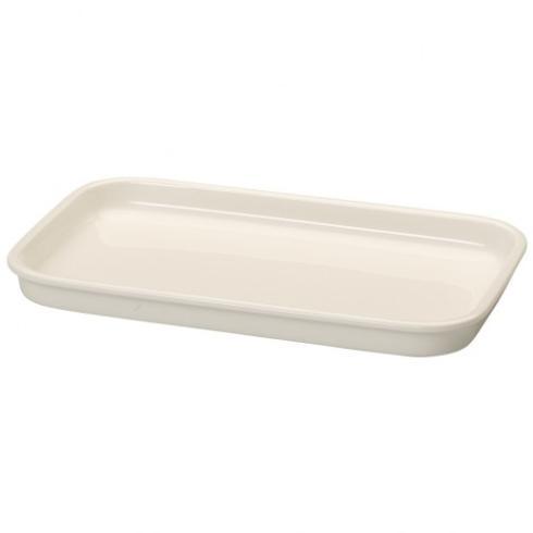 "Villeroy & Boch  Cooking Elements Rectangular Serving Plate / Lid, 10.25"" $35.00"