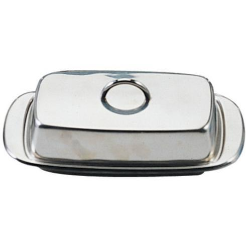 $21.00 Danesco Stainless Steel Covered Butter Dish