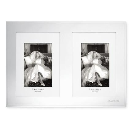 Kate Spade  Darling Point Double Invitation Frame $110.00