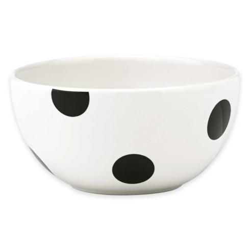 Kate Spade  Deco Dot Black Fruit Bowl $11.00