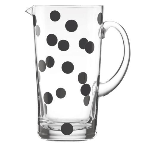 Kate Spade  Glass  Deco Dot Pitcher $30.00