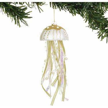 $12.00 Gold Jellyfish Ornament