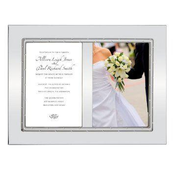 Lenox  Devotion Double Invitation Frame $52.00