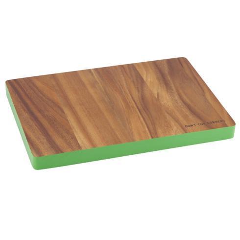 "Kate Spade  Wood  "" Don\'t Cut Corners"" Rectangular Cutting Board $40.00"