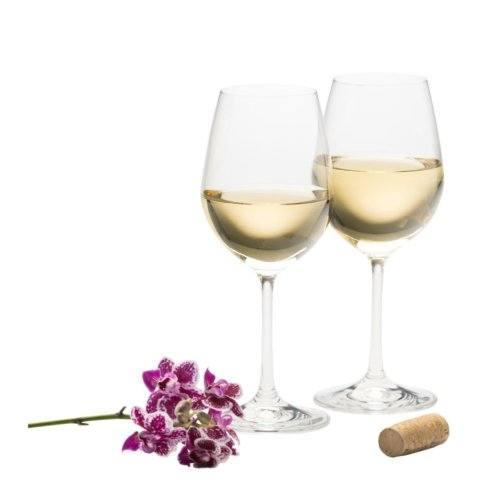 Galway Irish Crystal  Elegance White Wine Glasses, Pair $25.00