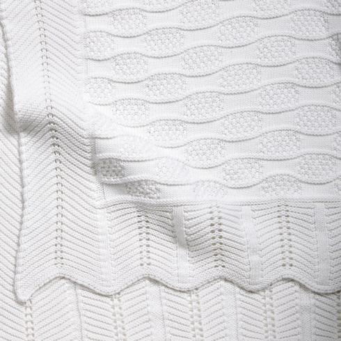 $55.00 Fancy White Blanket