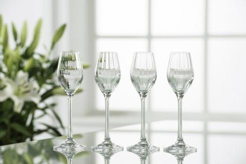Galway Irish Crystal  Erne Stemware & Barware Erne Cordial / Sherry / Liqueur Glasses, Set of 4 $25.00