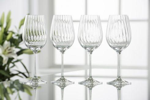 Galway Irish Crystal  Erne Stemware & Barware Erne Wine Glasses, Set of 4 $30.00