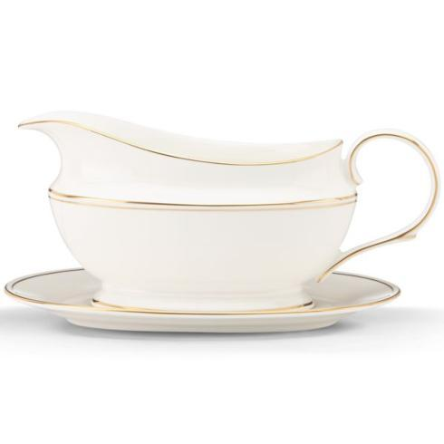 Lenox  Federal Gold Gravy/Sauce Boat & Stand $200.00