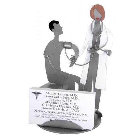 H k steel sculptures steel sculpture business card and pen 4600 doctor business card holder female colourmoves