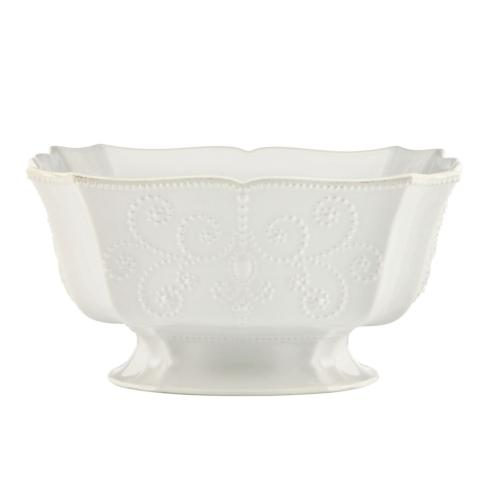Lenox  French Perle White Footed Centerpiece Bowl $100.00