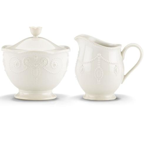 Lenox  French Perle White Sugar & Creamer Set $60.00