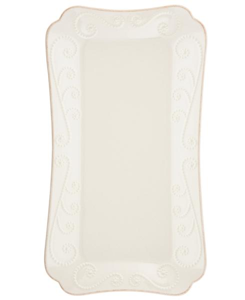 Lenox  French Perle White Hors D\'Oeuvre Tray $60.00