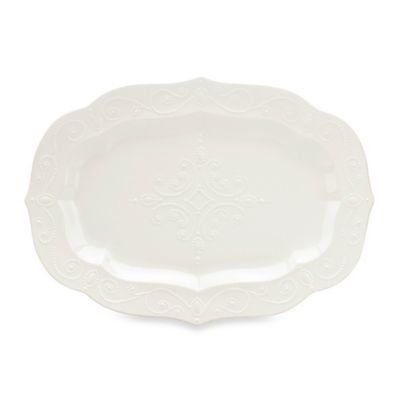 Lenox  French Perle White Large Serving Platter $130.00