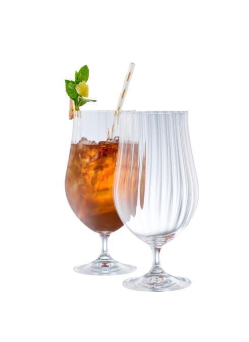 Galway Irish Crystal  Erne Stemware & Barware Cocktail / Craft Beer Glasses, Set of 2 $30.00