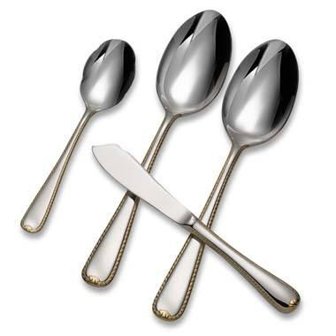 Gorham  Golden Ribbon Edge Serve Set, 4 Piece $83.00