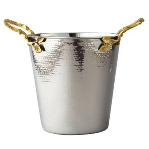 Elegance by Leeber  Golden Vine Wine/Ice Bucket $60.00