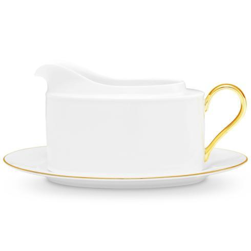 Noritake  Accompanist Gravy Boat and Tray $105.00